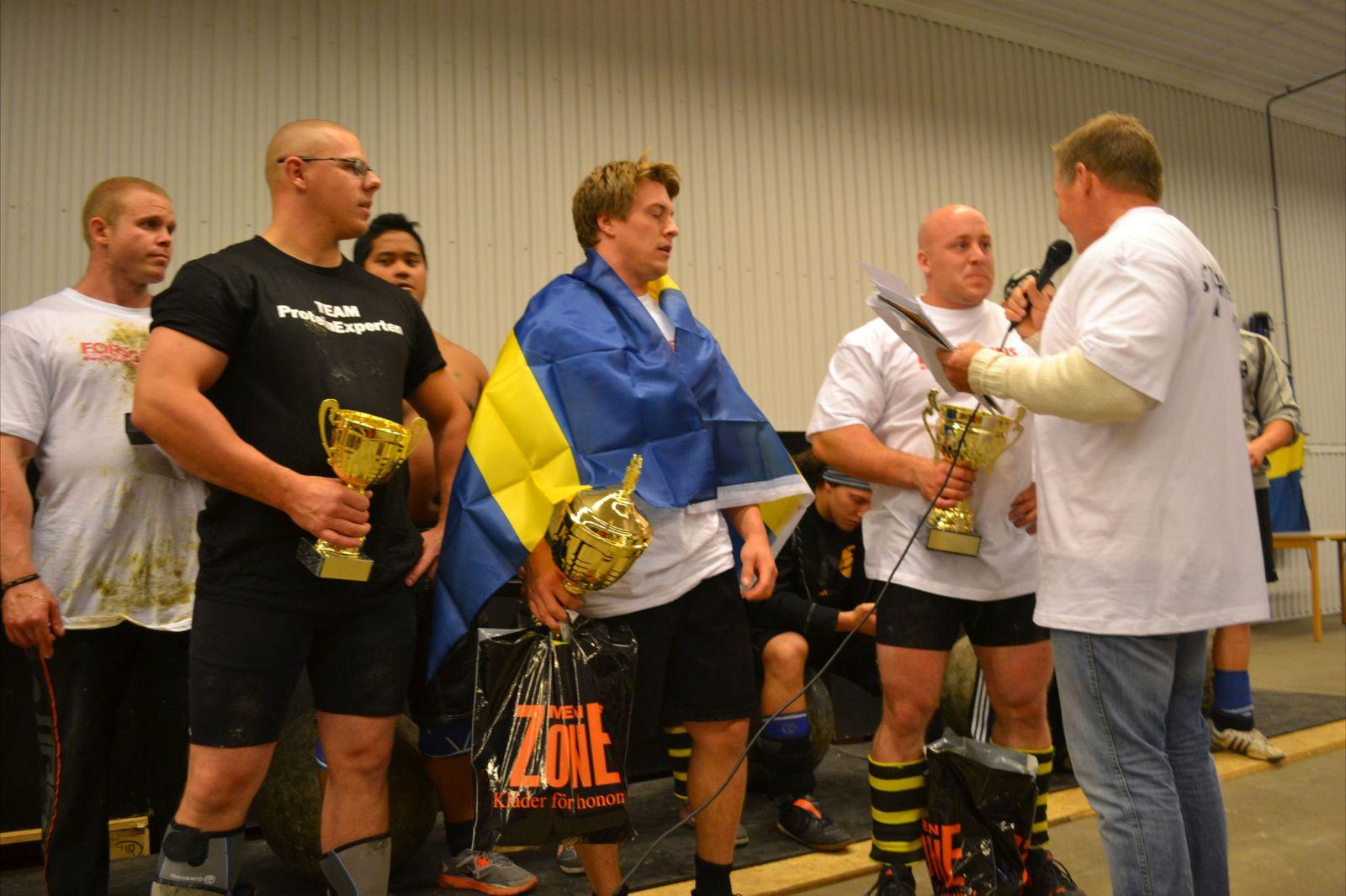 Sveriges starkaste man -105kg Final, Arvidsjaur 2012